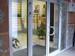 Купить алюминиевые двери в Симферополе