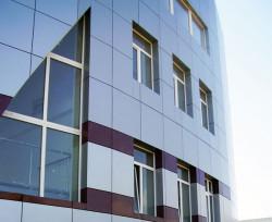 Монтаж алюминиевых фасадов в Симферополе
