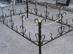 Ритуальные кованые ограды. Крым - Горизонт Строй