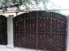 Купить кованые ворота в Симферополе