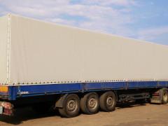 Тенты для грузовых авто в Крыму